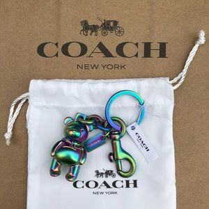 ❗️FINAL PRICE❗️🐻NWT Coach Bear Keychain 🐻